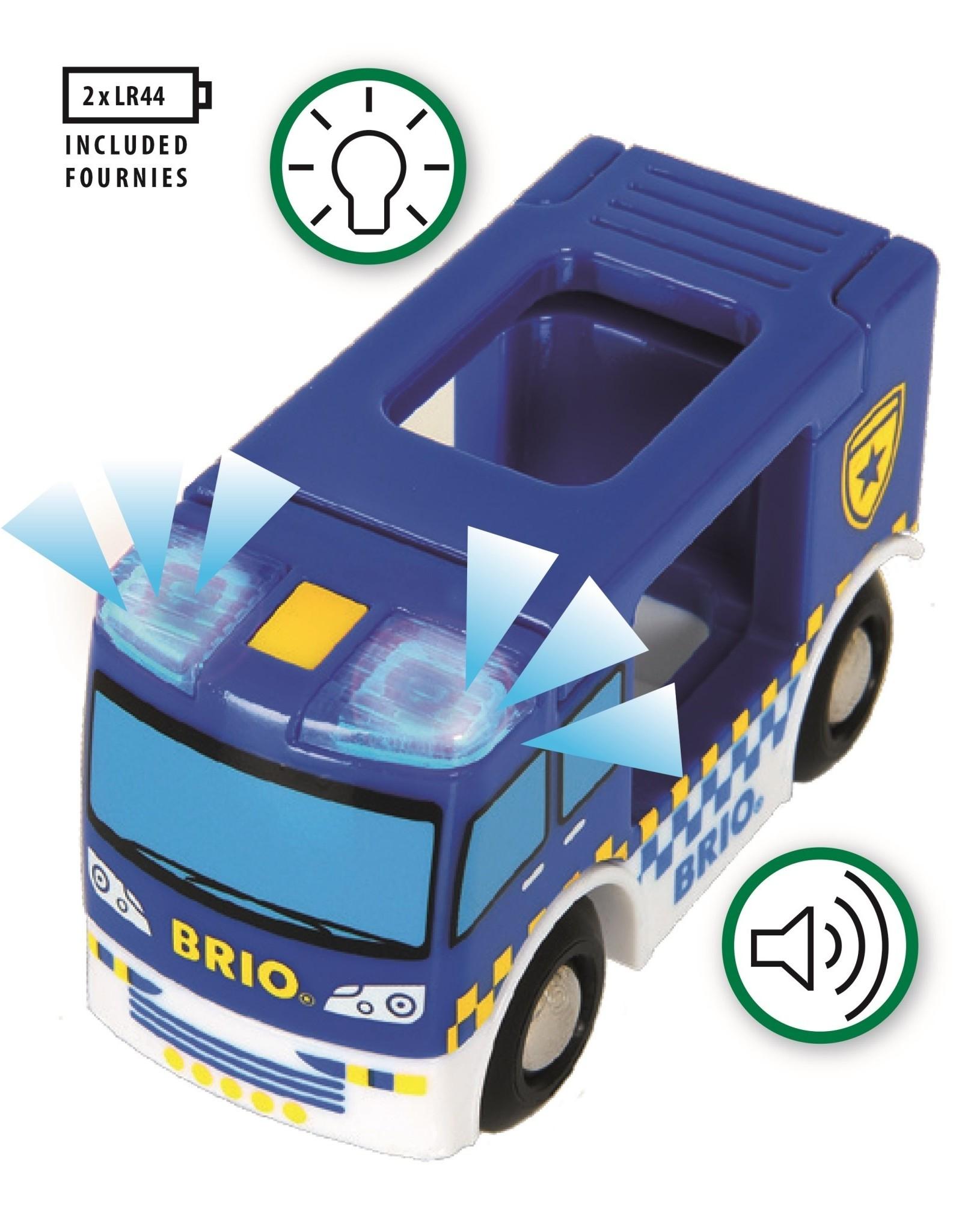 Brio Police Van