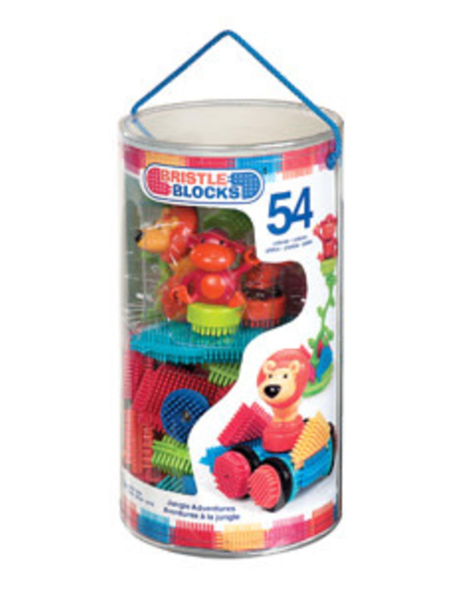 B.toys Bristle Blocks Jungle adventures 54 stukjes