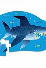 Crocodile Creek Minipuzzel Shark City 12St.