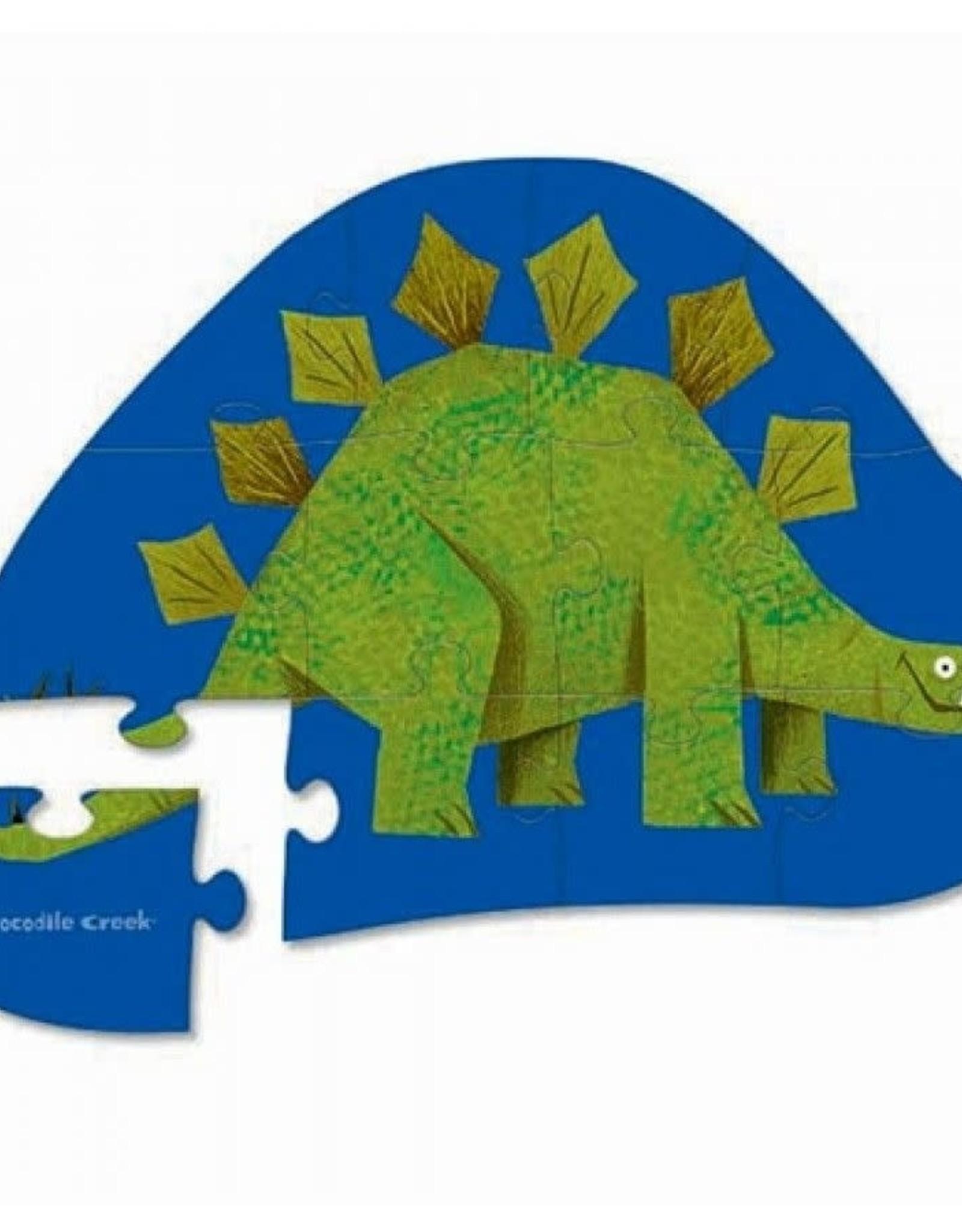 Crocodile Creek Minipuzzel Stegosaurus 12st.