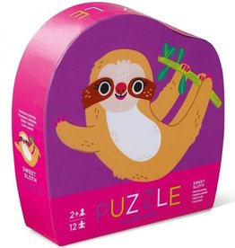 Crocodile Creek Minipuzzel Sweet Sloth