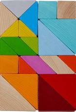 HABA Legspel Kleurrijke Tangrammix