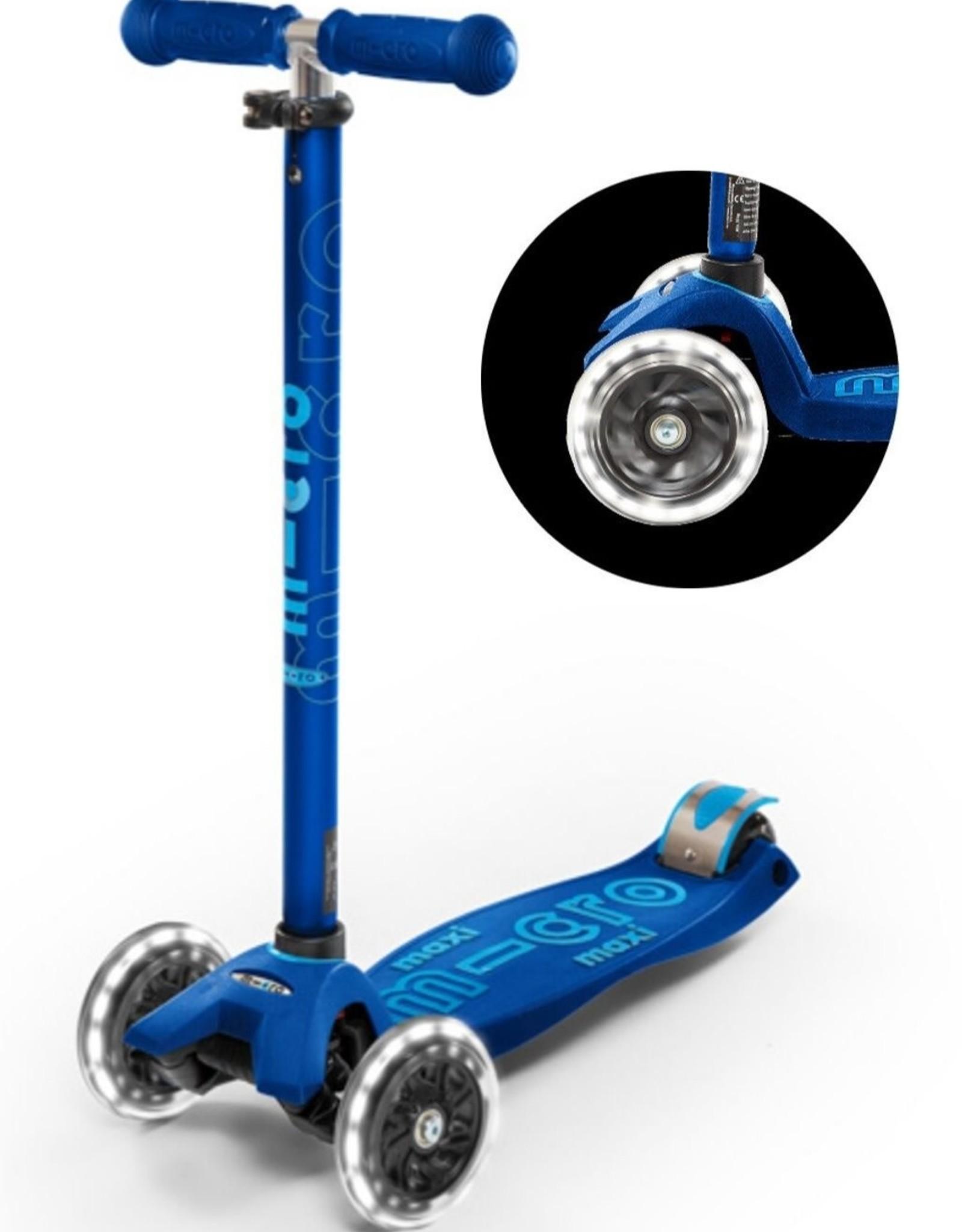 Micro Step Maxi Micro Step Deluxe LED Marineblauw