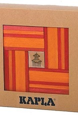 Kapla Kapla Kadoset rood 40 stukjes & boek