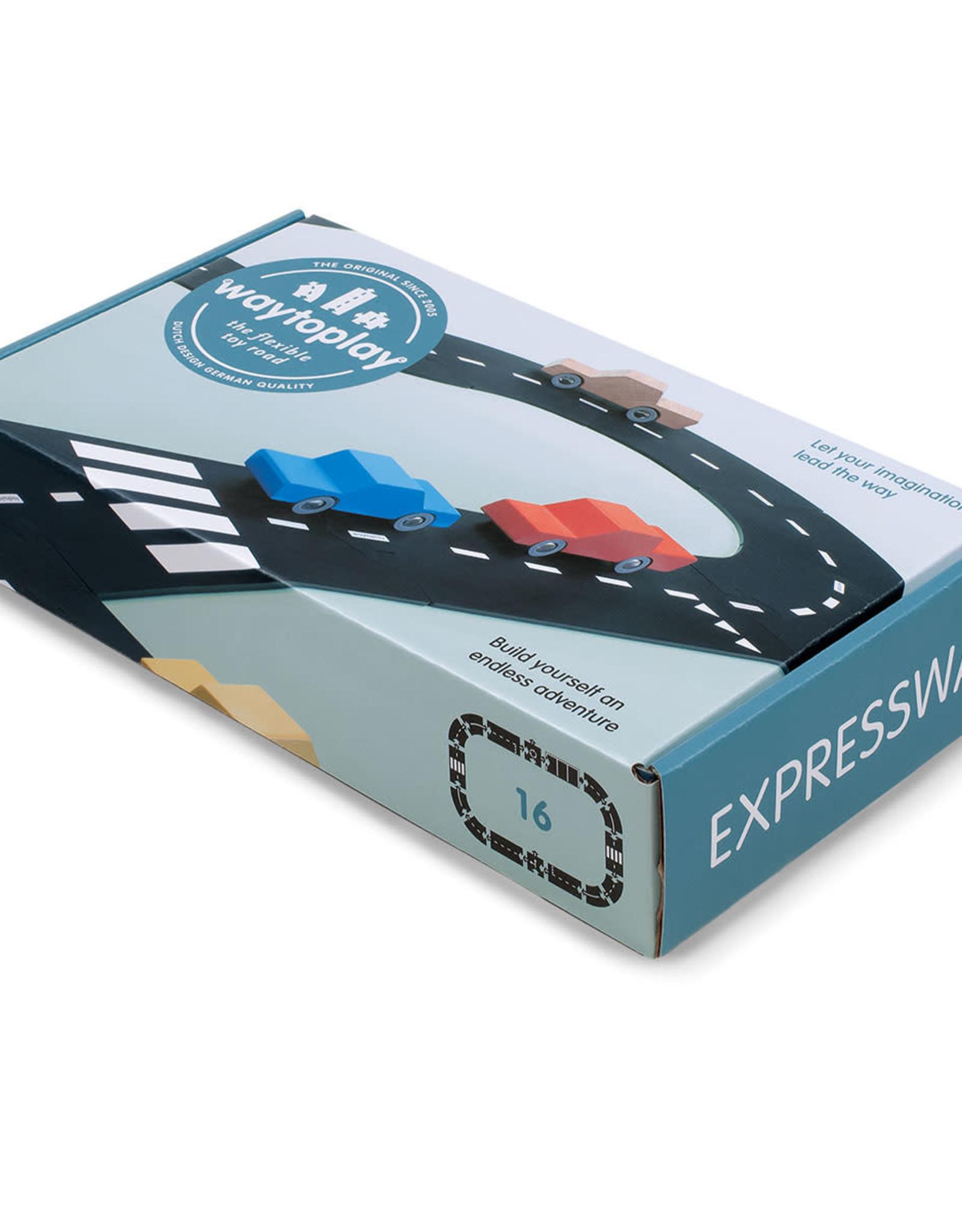 Waytoplay Autoweg Express Way 16-Delig