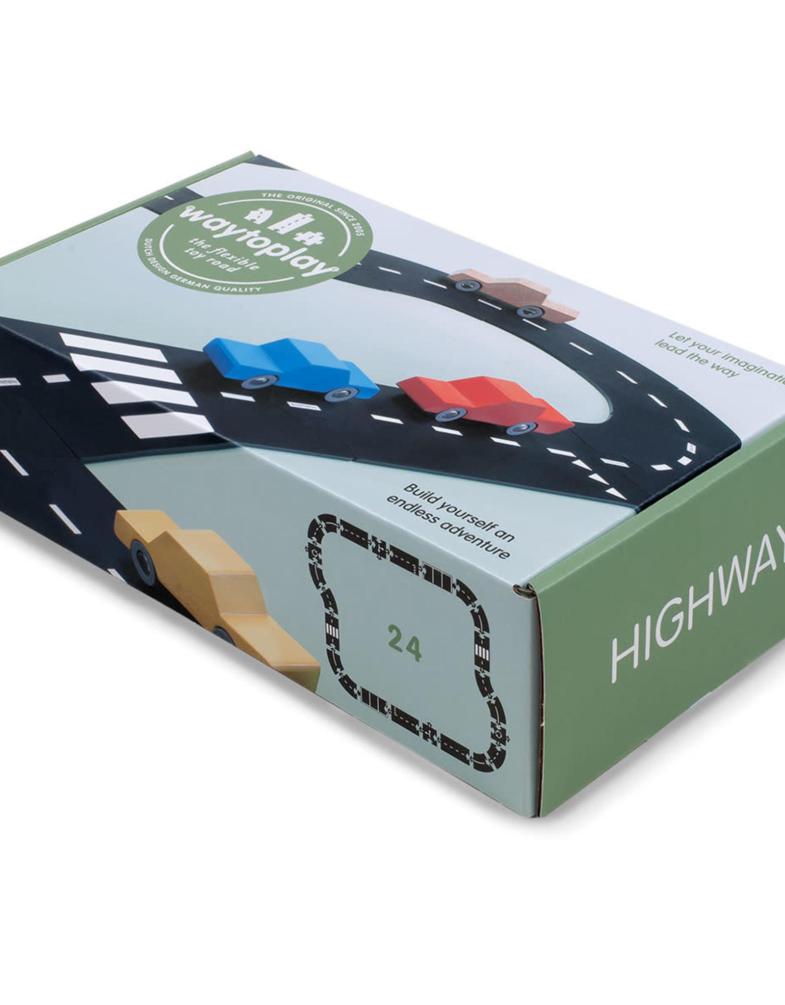 Waytoplay Autoweg Highway 24-Delig
