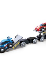 Hape Race Car Transporter