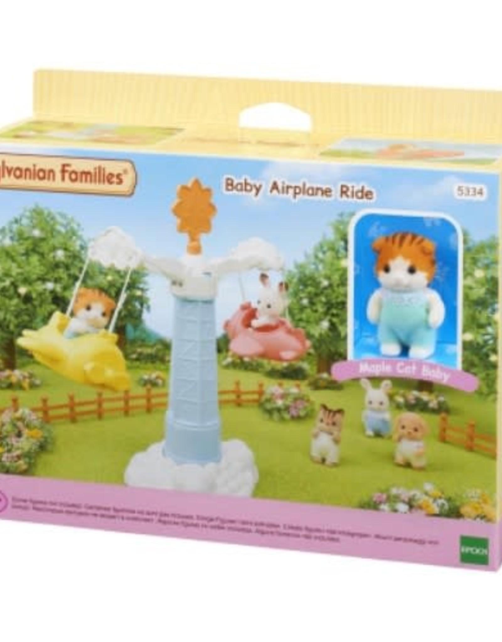 Sylvanian Families Baby Vliegtuig Draaimolen