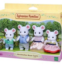 Sylvanian Families Marshmellow Mouse Family