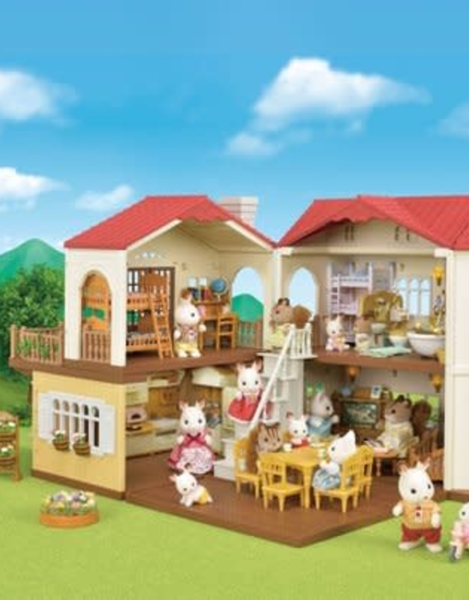Sylvanian Families Red Roof Landhuis