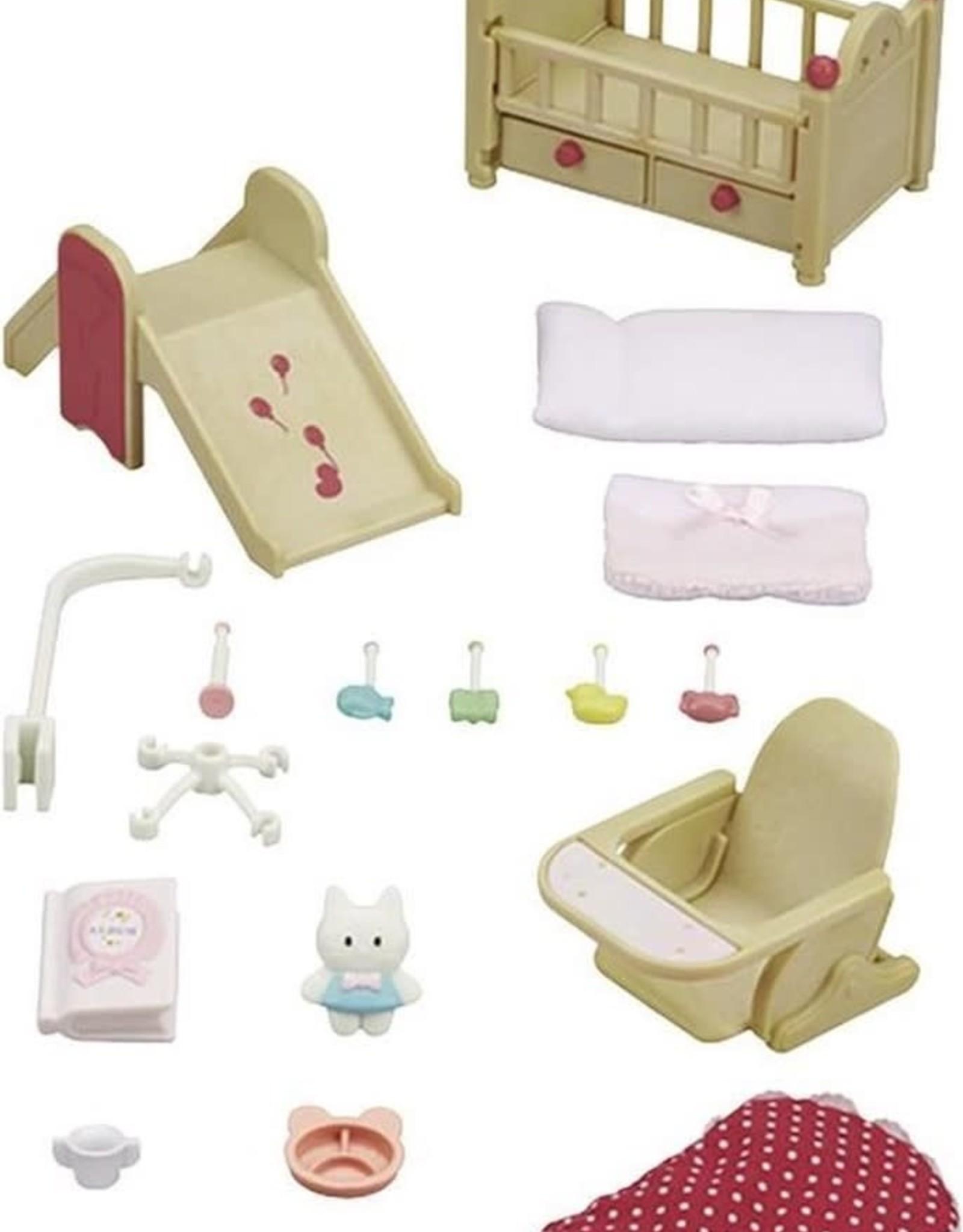 Sylvanian Families Babykamer set