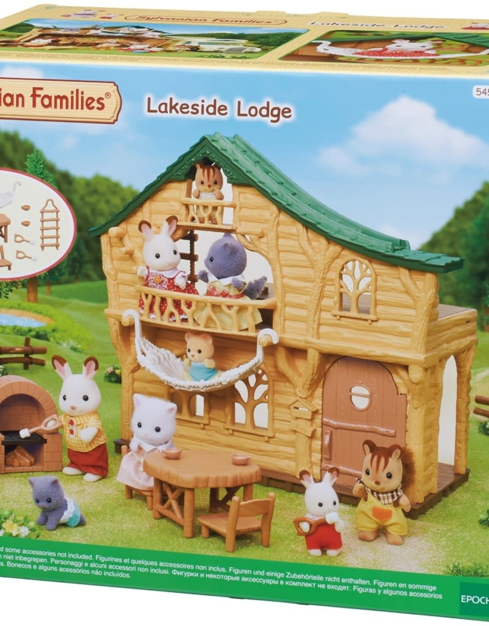 Sylvanian Families Blokhut Lakeside Lodge