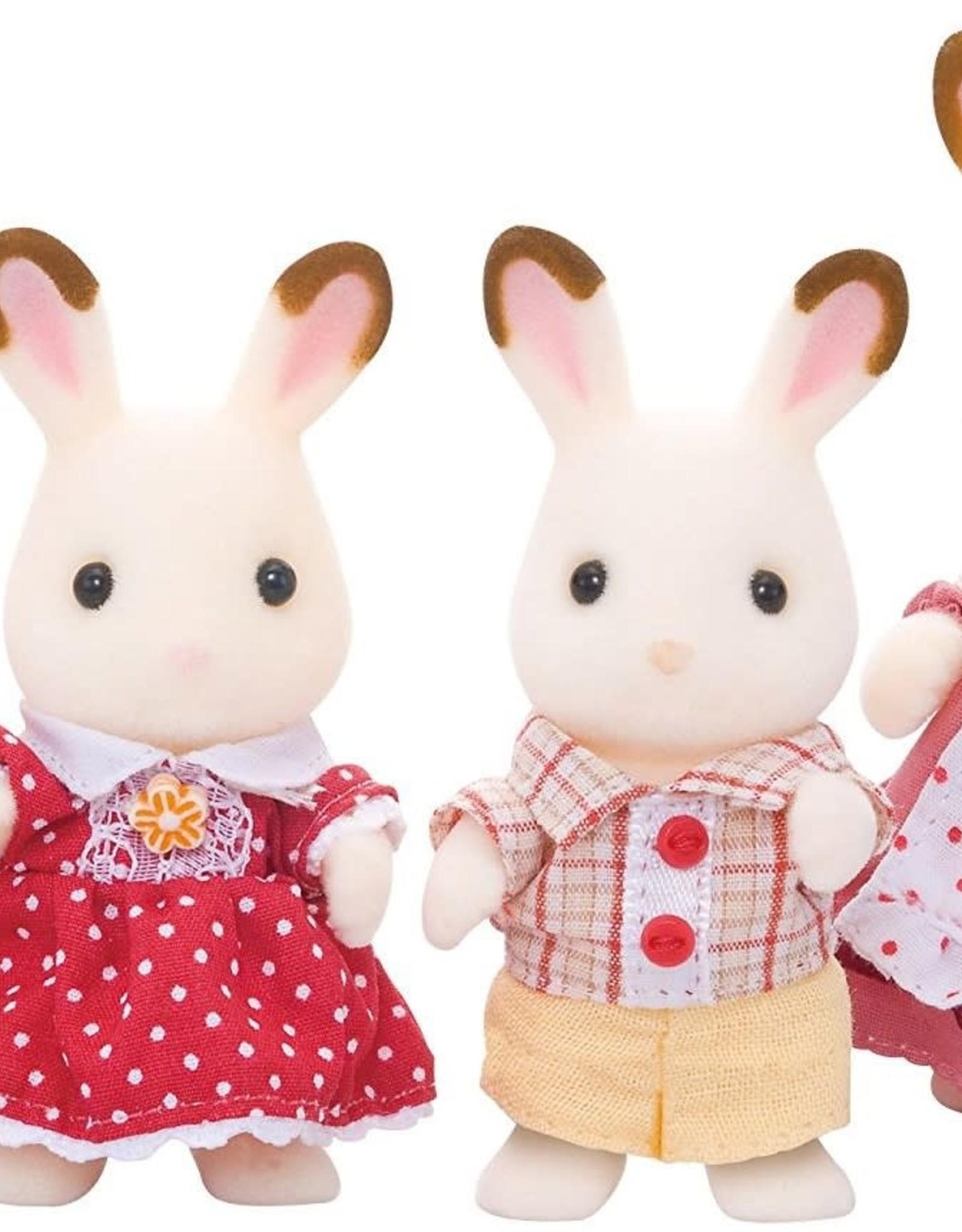 Sylvanian Families Chocolate Rabbit Family