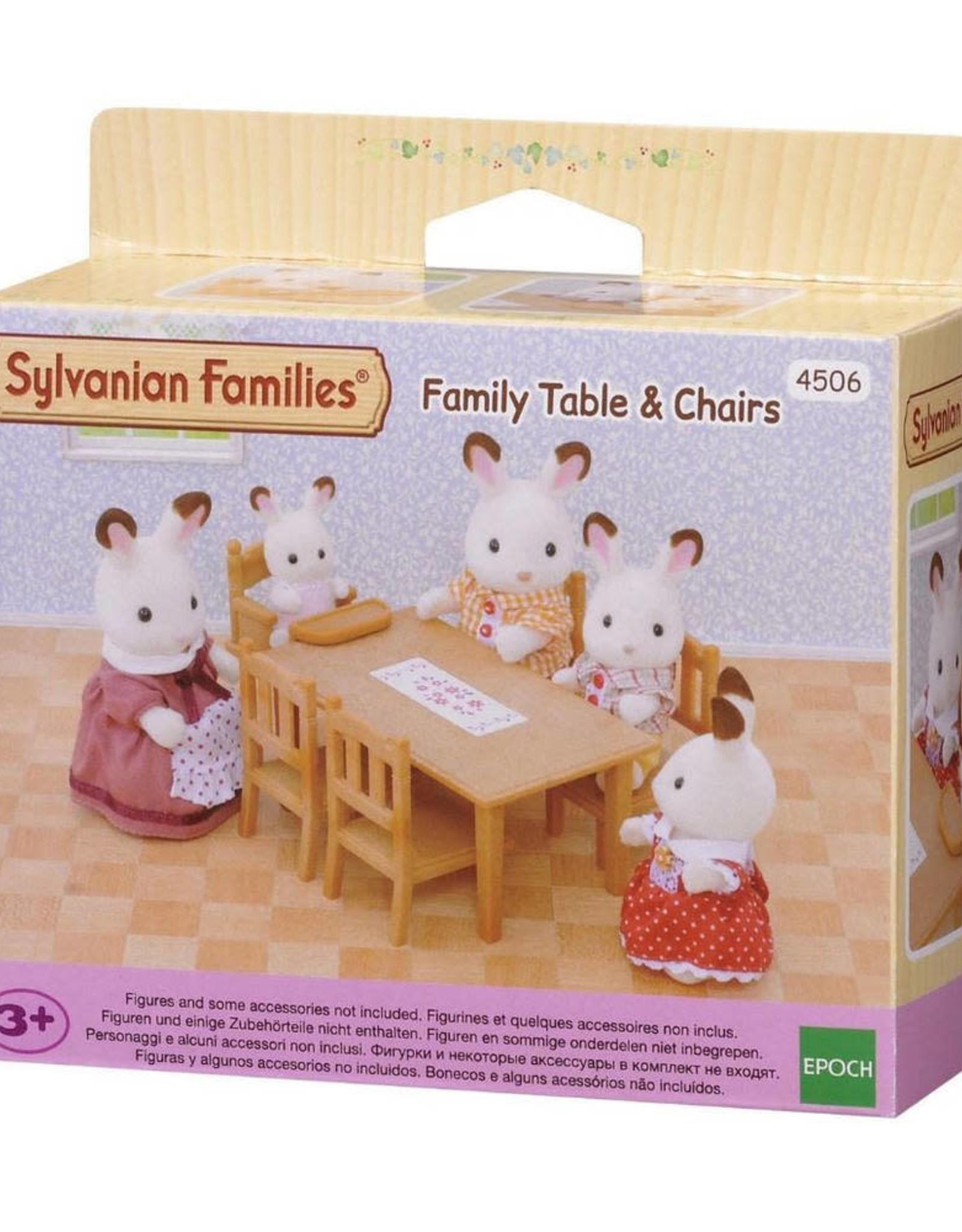 Sylvanian Families Eettafel