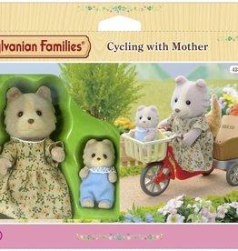 Sylvanian Families Fietsset