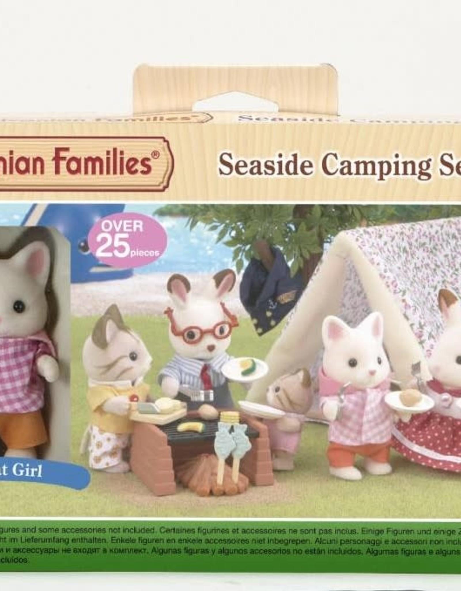Sylvanian Families Seaside Camping set