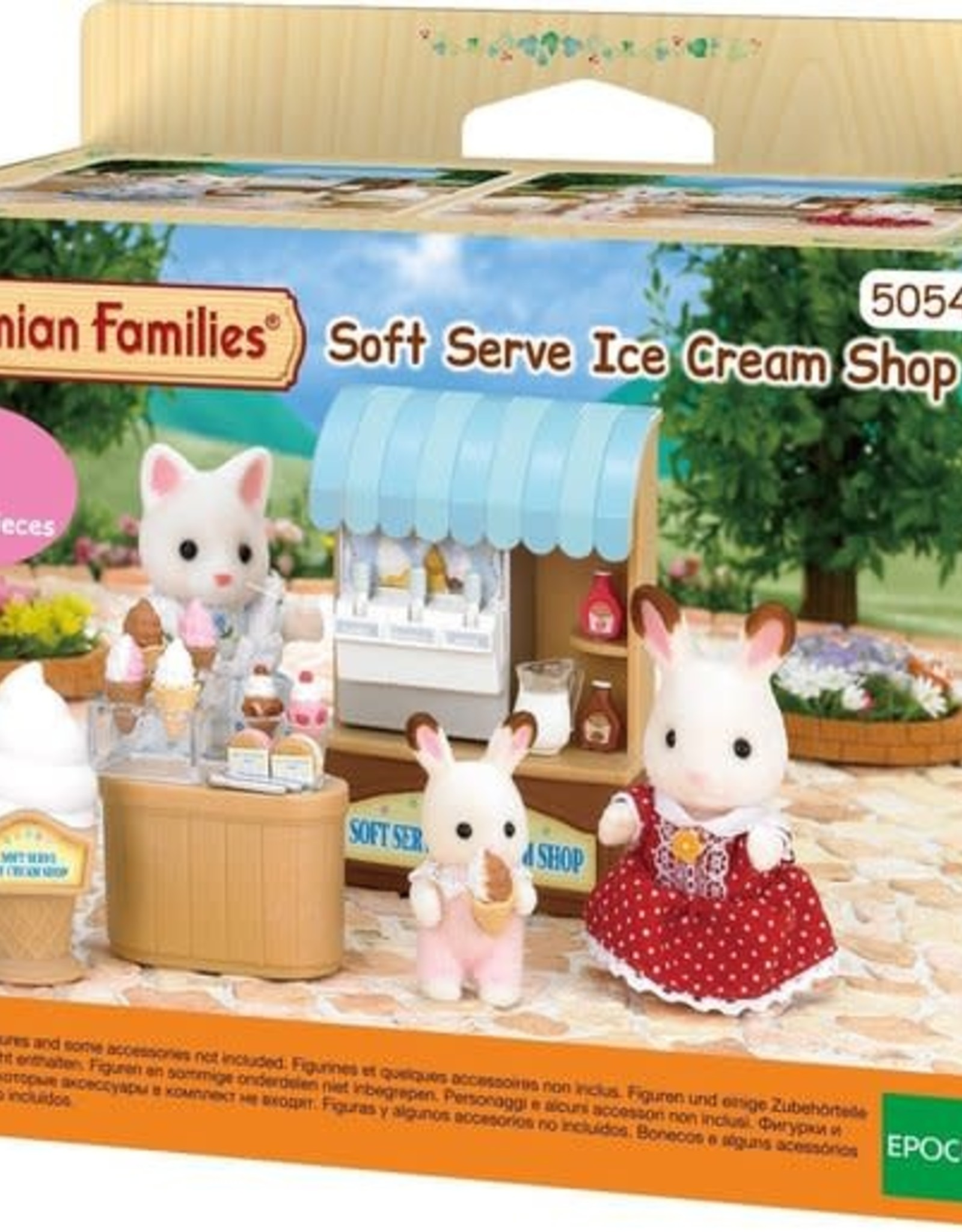Sylvanian Families Softijs shop