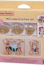Sylvanian Families Wandlampen & gordijnen set