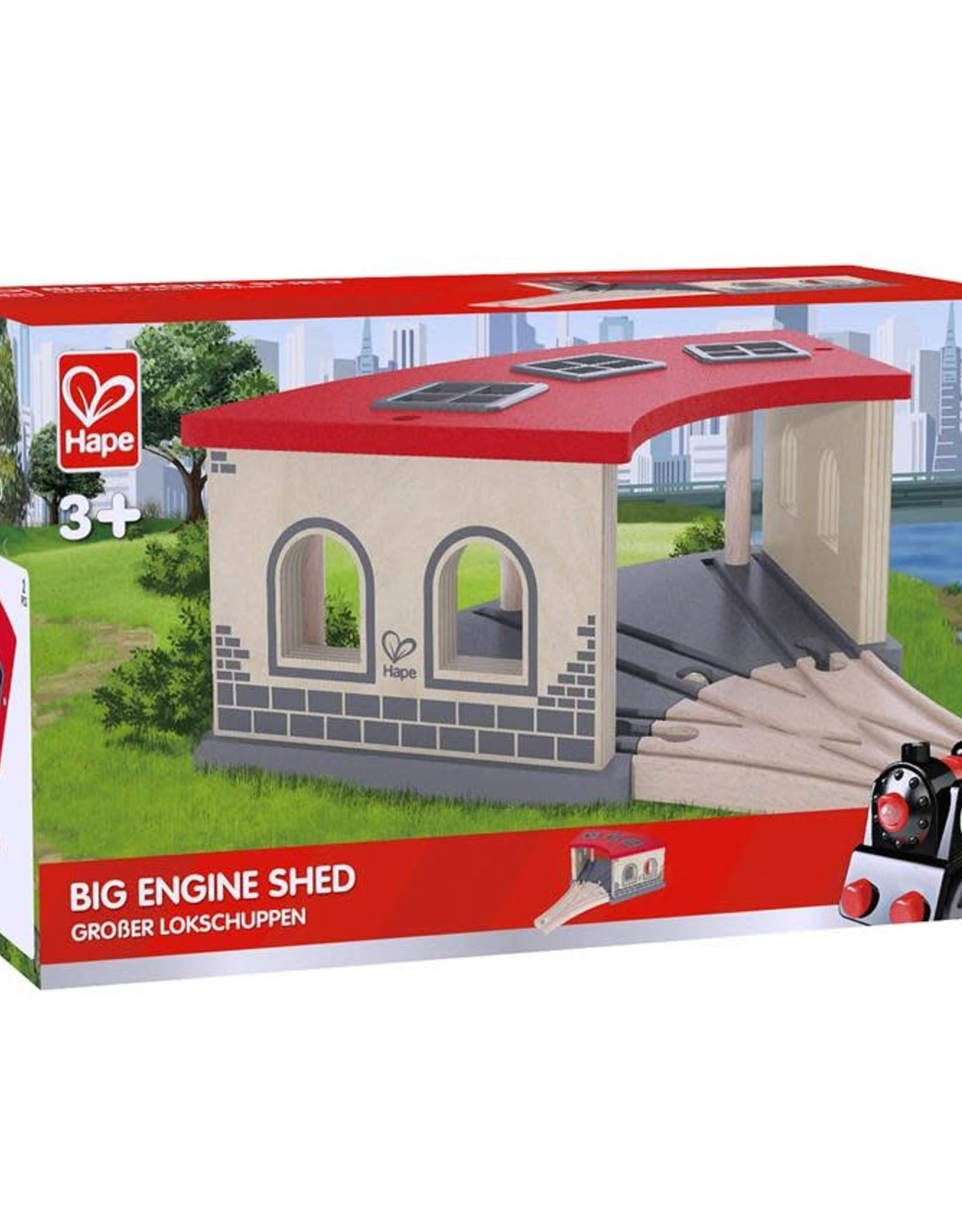 Hape Big Engine Shed