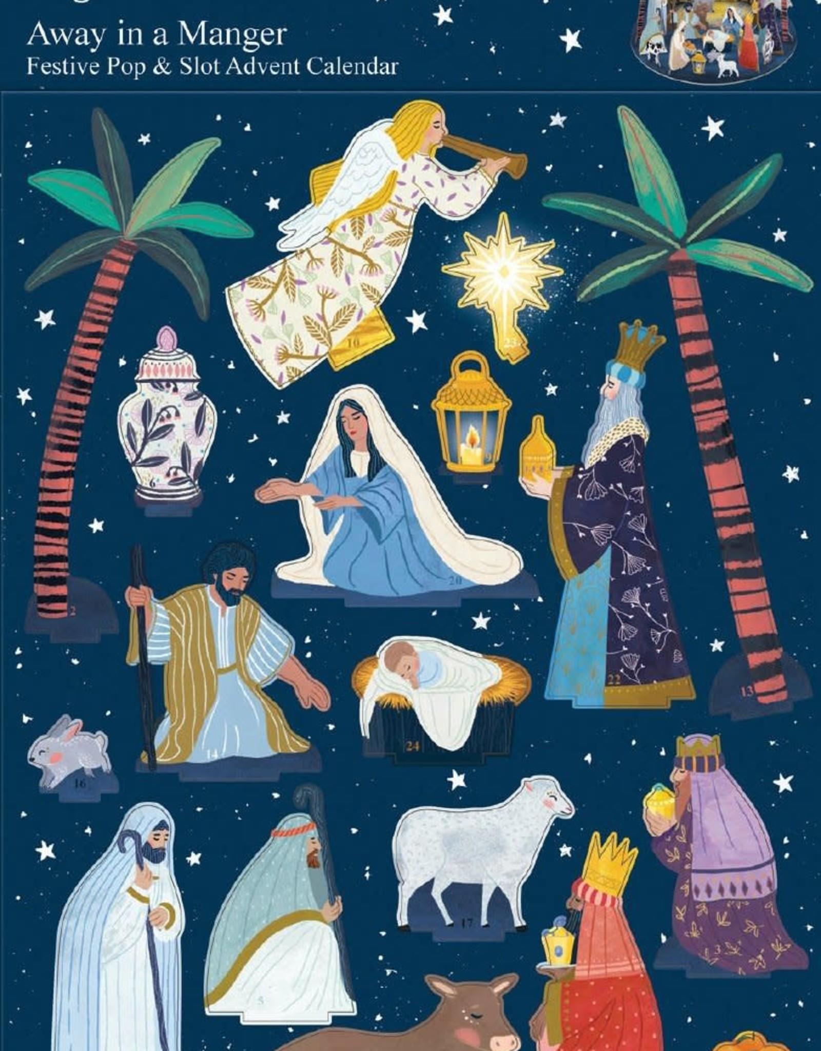 Pop & Slot Adventkalender Away in a Manger