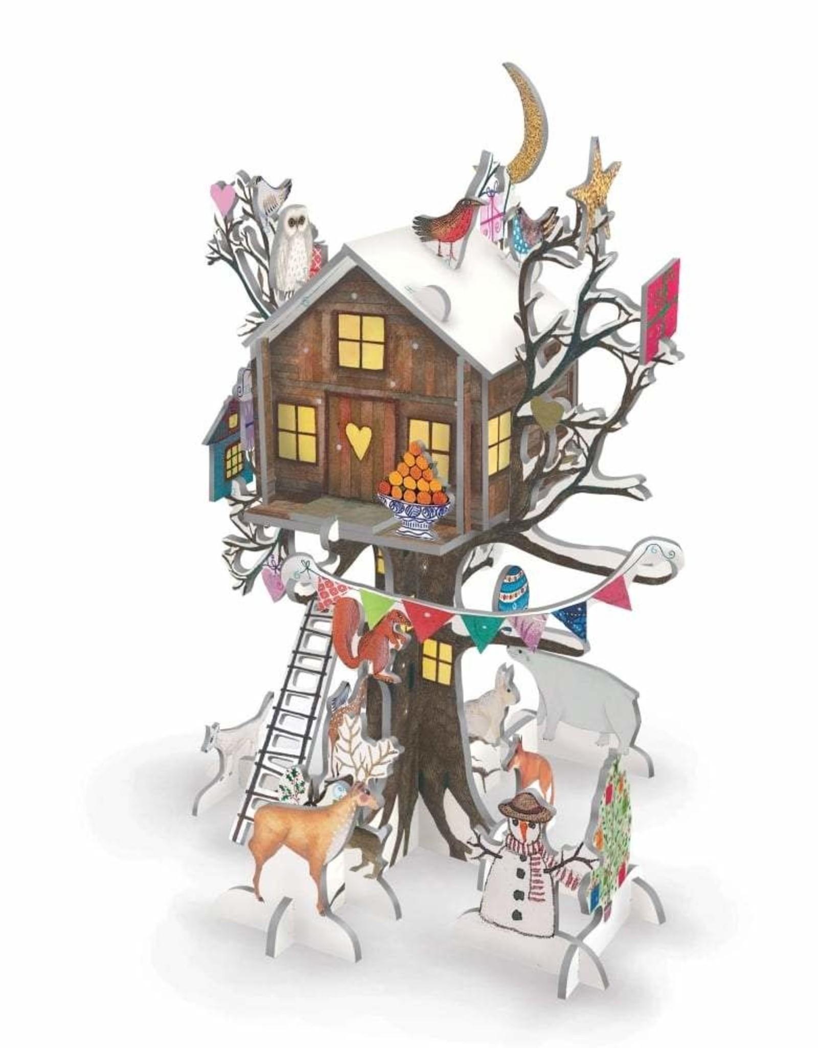 Pop & Slot Adventkalender Christmas Treehouse