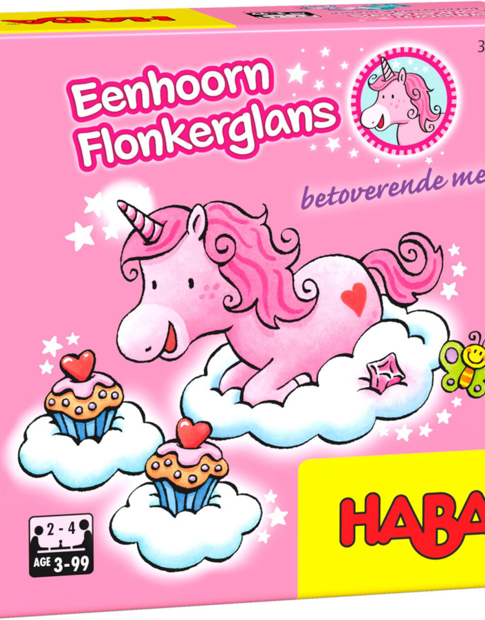 HABA Eenhoorn Flonkerglans Betoverende memo