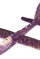 Zweefvliegtuig met verlichting