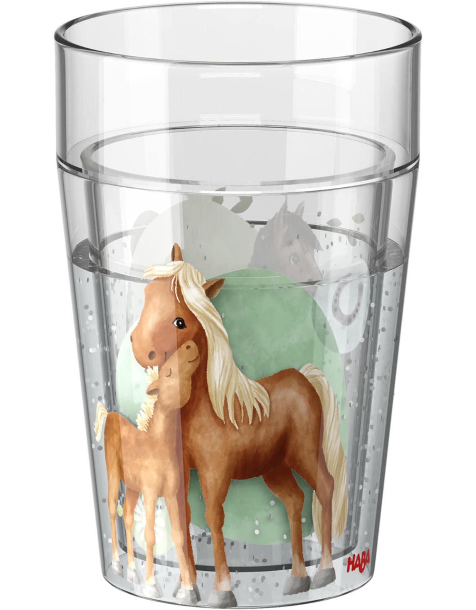 HABA Glitterbeker Paarden