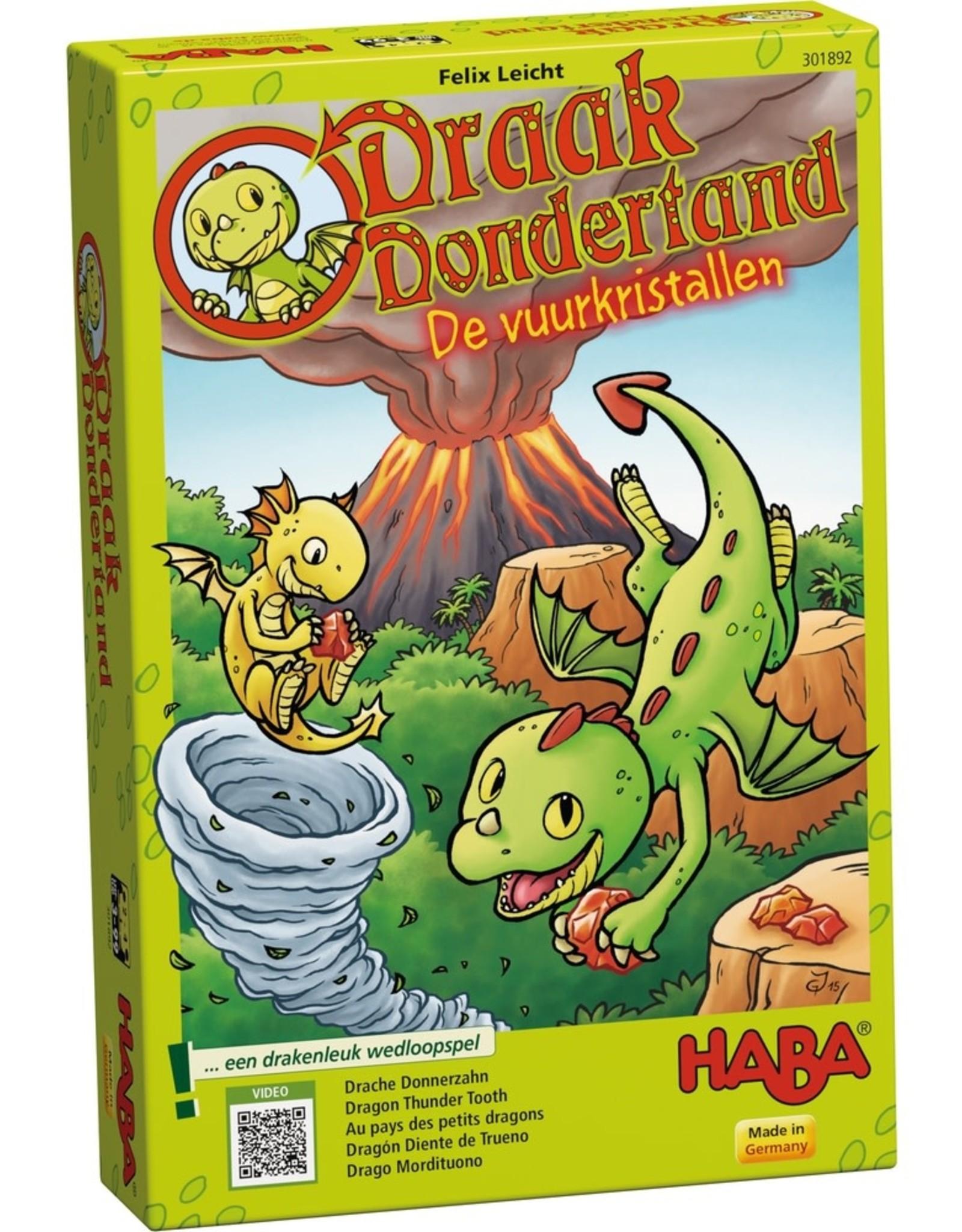 HABA Draak Dondertand