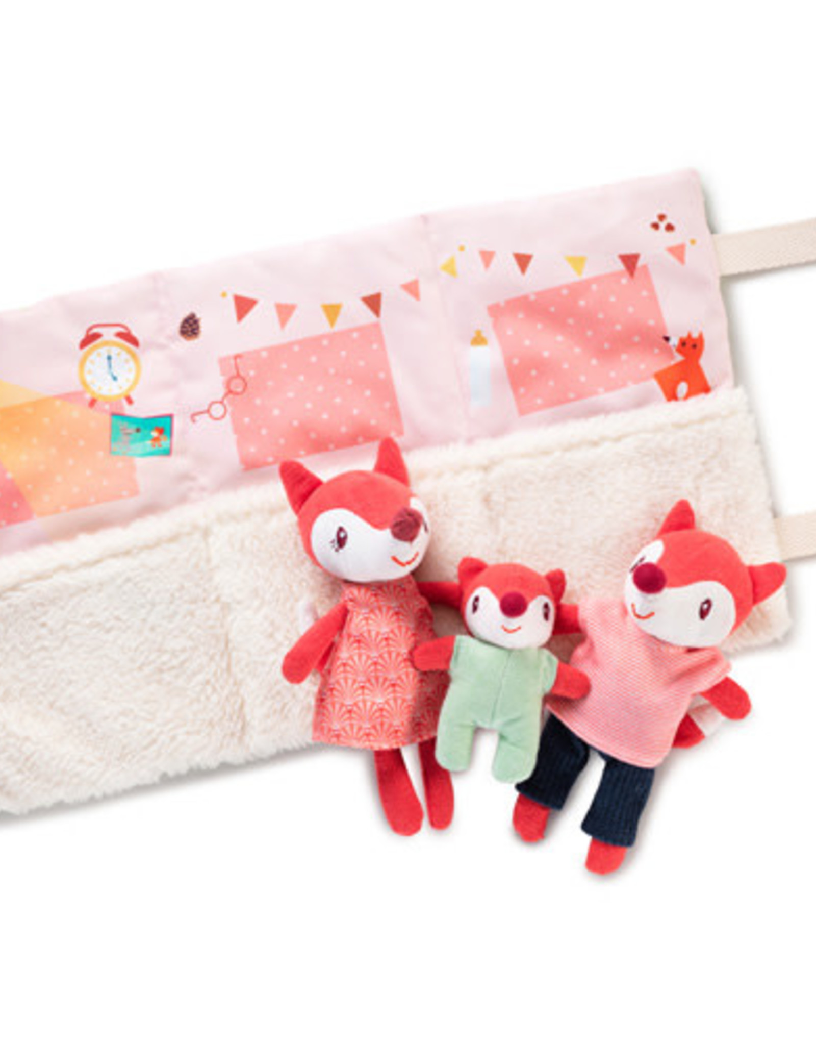 Lilliputiens Het gezin van Alice het vosje
