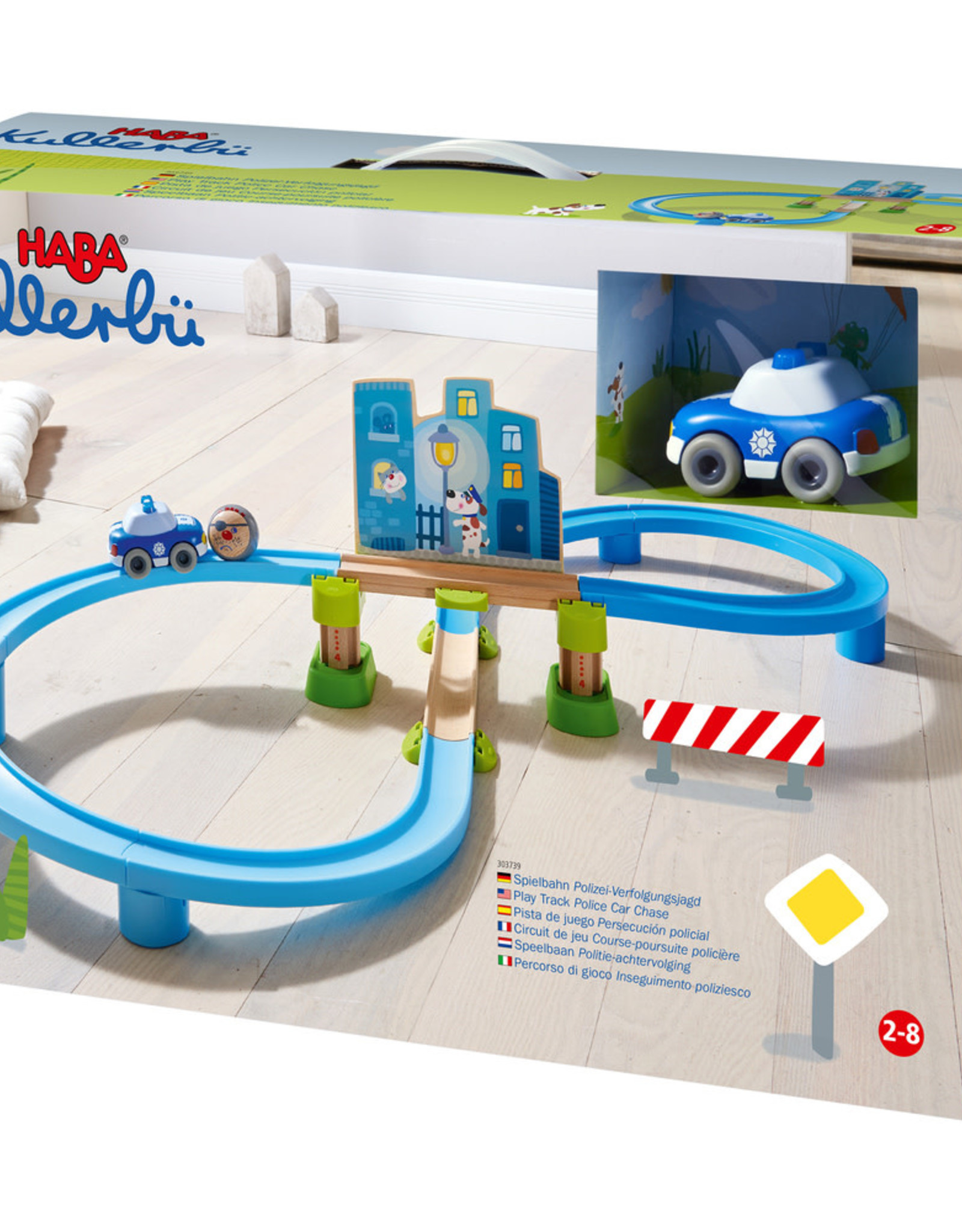 HABA Speelbaan Politie Achtervolgen