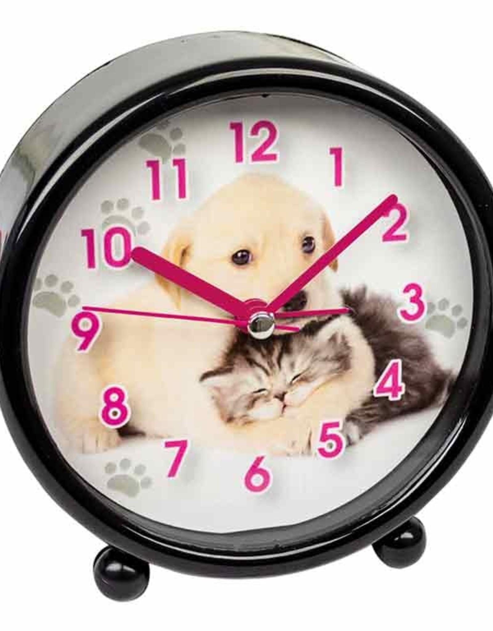 Wekker Puppy & Kitten