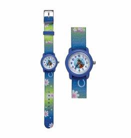 Horloge Paard Blauw