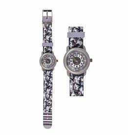 Horloge Camouflage Grijs