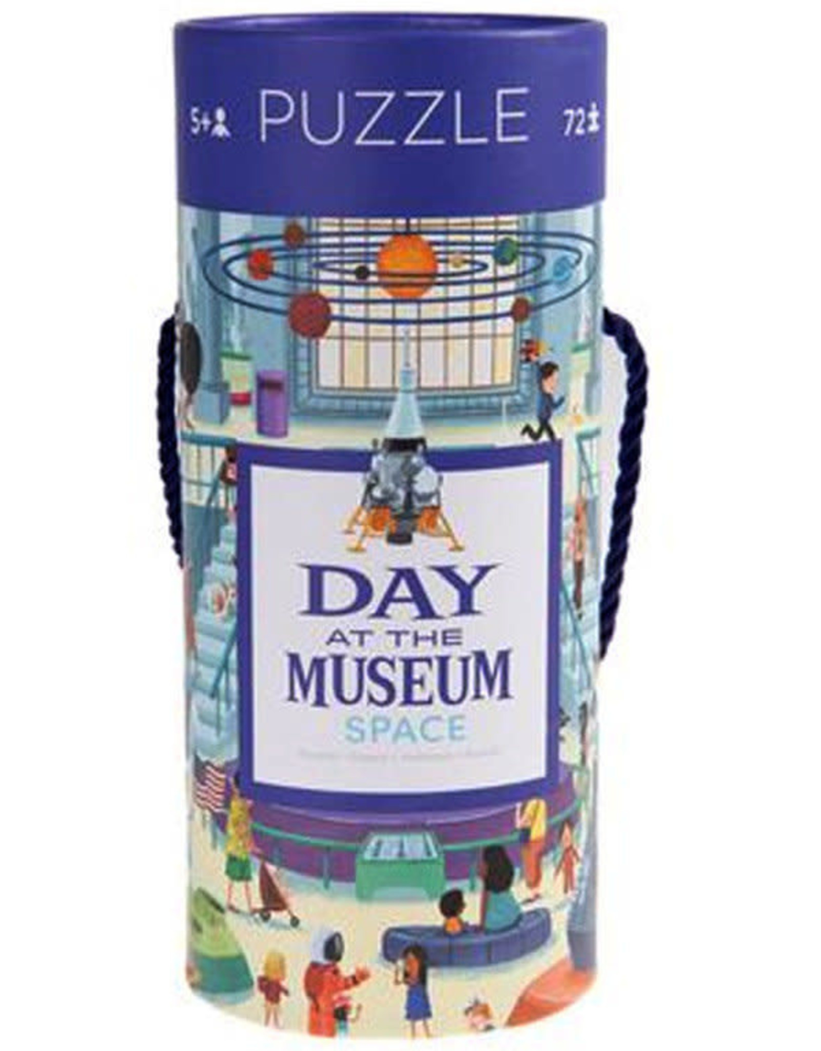 Crocodile Creek Puzzel Day At The Museum Space