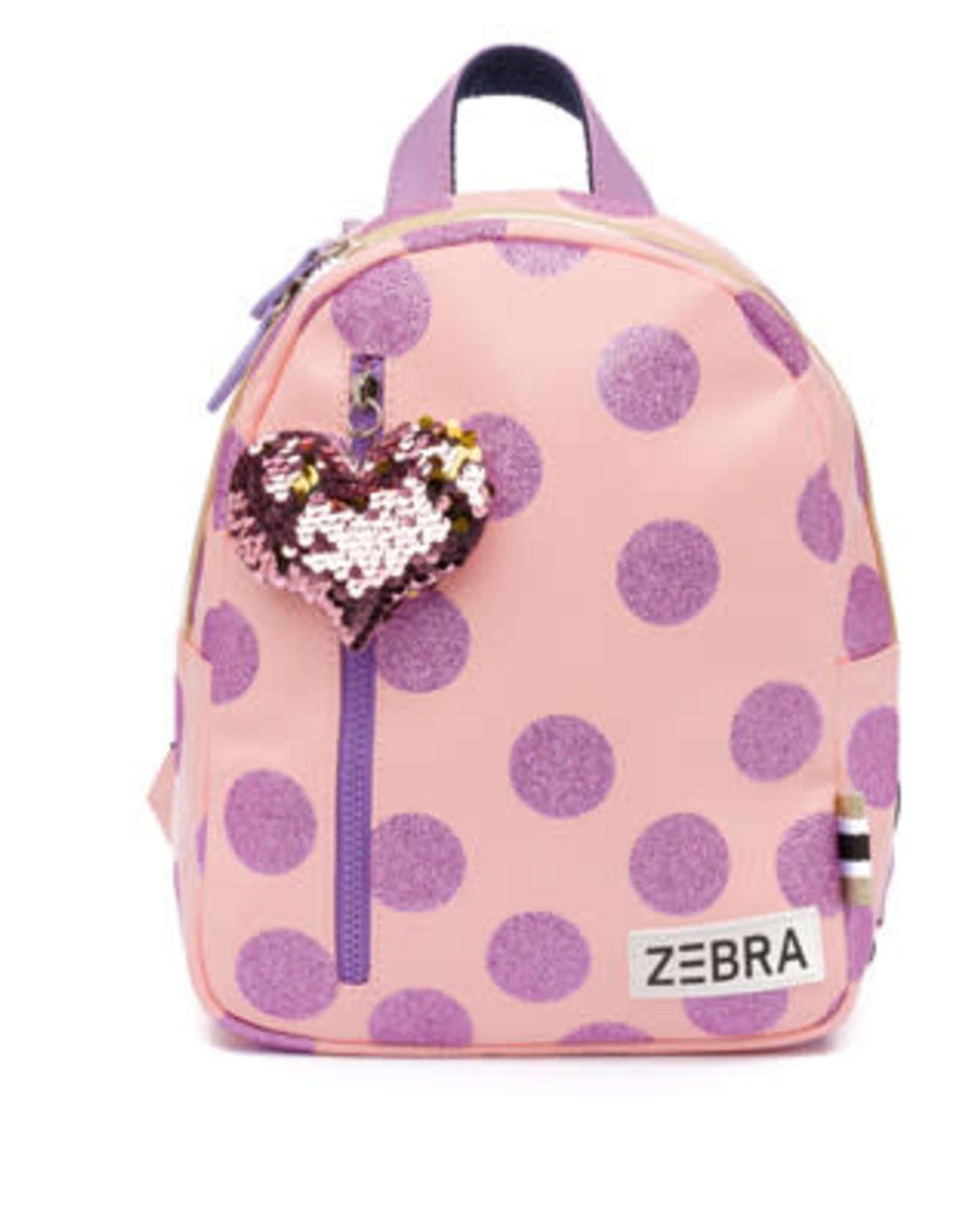 Zebra Trends Rugzak Glitterdots Pink S