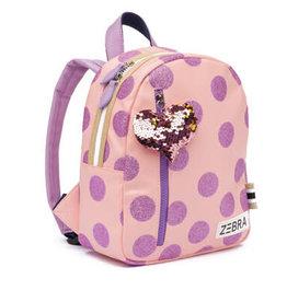 Zebra Trends Rugzak Glitterdots Pink
