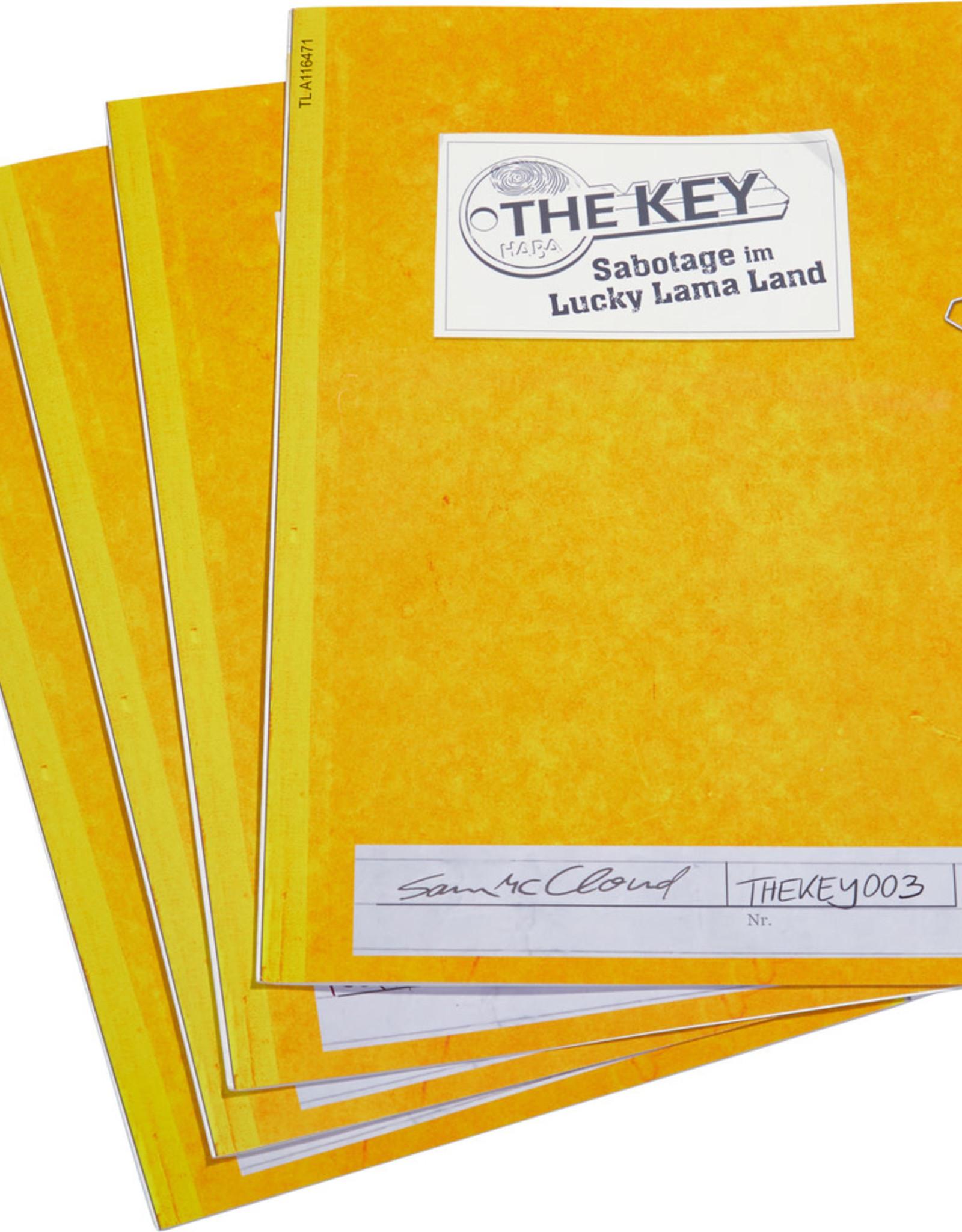 HABA The Key - Sabotage in Lucy Lama Land