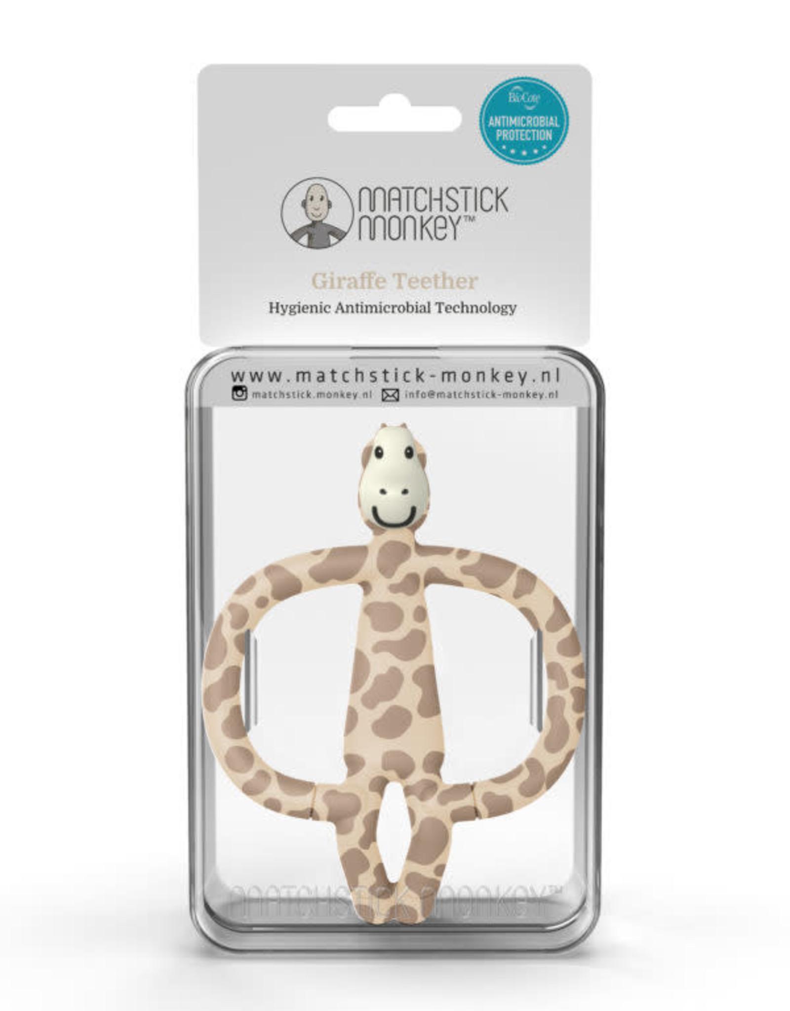 Matchstick Monkey Bijtspeeltje Jungle Friends Giraf