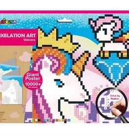 Avenir Pixelation Art Unicorn