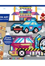 Avenir Pixelation Art Transport
