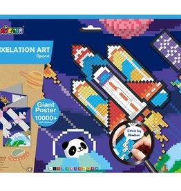 Avenir Pixelation Art Space