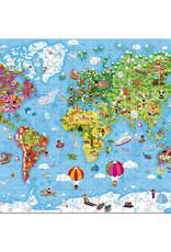 Janod Puzzel Wereld Giant