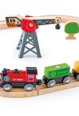 Hape Treinbaan Cargo Delivery Loop