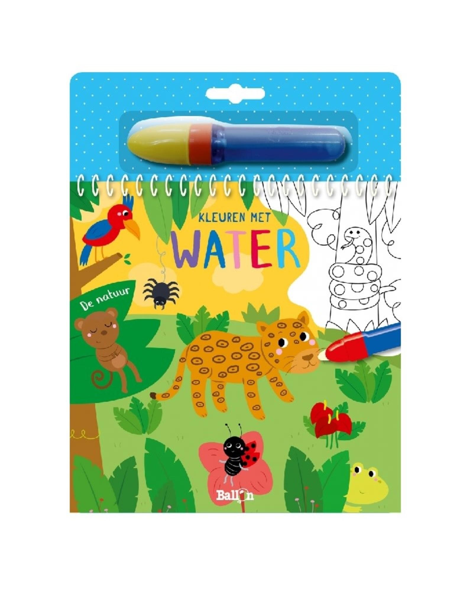 Ballon Kleuren met water - De natuur