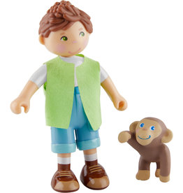 HABA Julius en baby-aapje