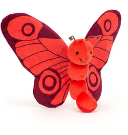 Jellycat Breezy Butterfly Poppy