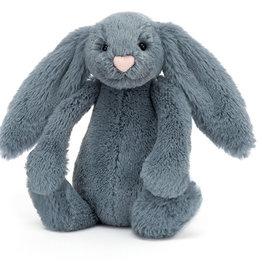 Jellycat Bashful Bunny Dusky Blue S