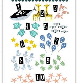 Pepermints Poster Dieren tellen
