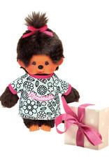 Monchhichi Monchhichi Actieset Meisje Coloring + extra kledingsetje